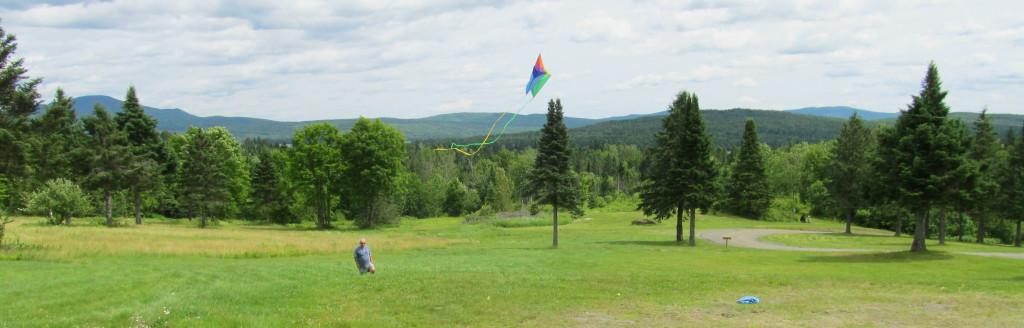 kite mountain view