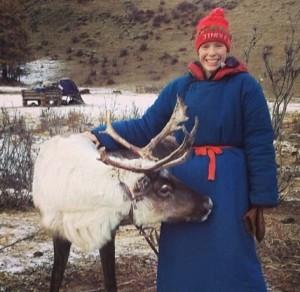 Kirsten in northern Mongolia