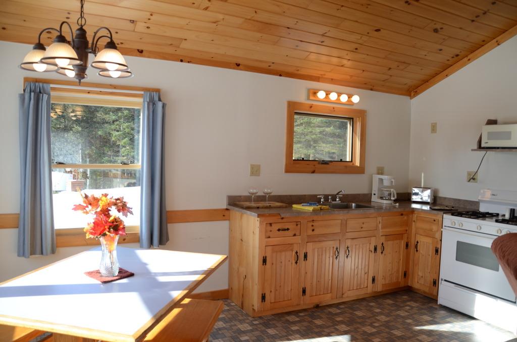 cabin 6 kitchen