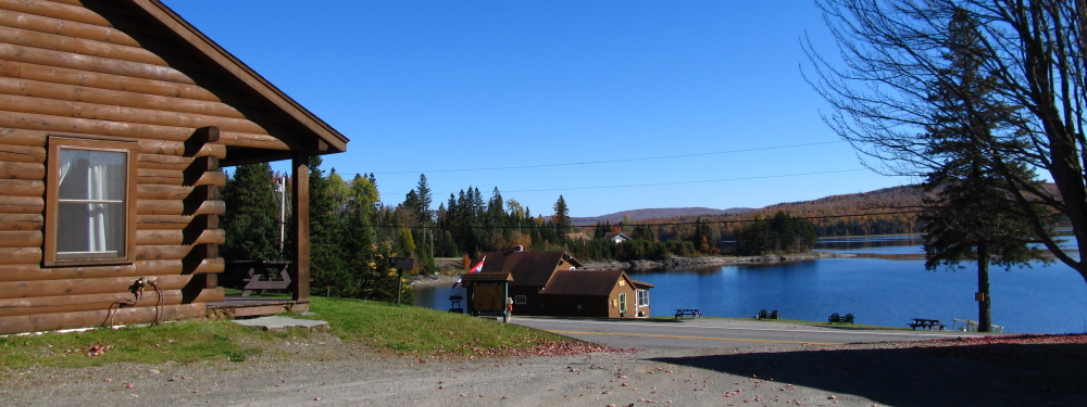 Ramblewood Cabins on First Lake Pittsburg NH