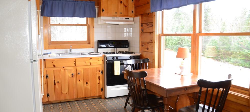 kitchen of cabin 4