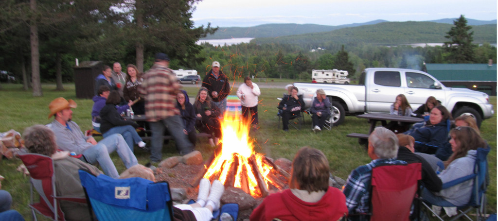 campfire group view