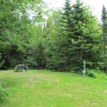 Campsite 17 trailer site 20 amp